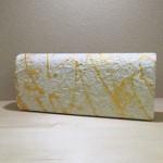美濃手すき和紙 ✕ TAISUKE KINUGASA クラッチバッグ