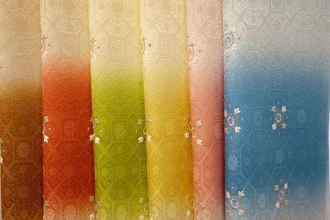 和小物さくら春の新作帯揚 ふくれ織正絹