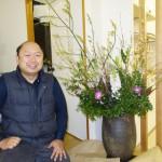 四季折々のお花がお出迎え 花市商店さんのお花