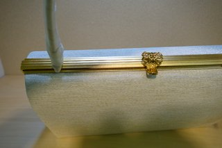 爪掻本綴織バッグ 金具
