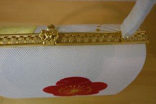 横振り京刺繍バッグ 金具