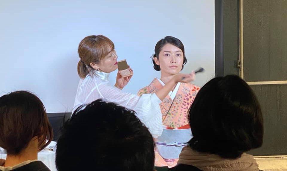 きものアルチザン京都 和のメーク講座